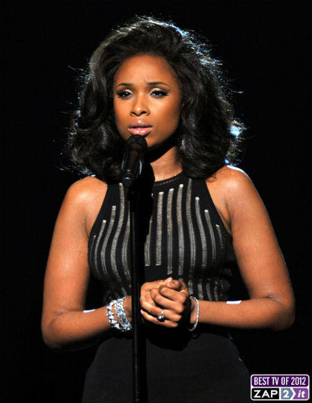 Just a day after Whitney's death, Hudson delivered a moving tribute.