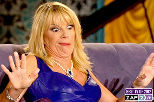 OMG TV: 35 moments and characters that excited us in 2012: Crazy Real Housewives reunion faces, forever+always