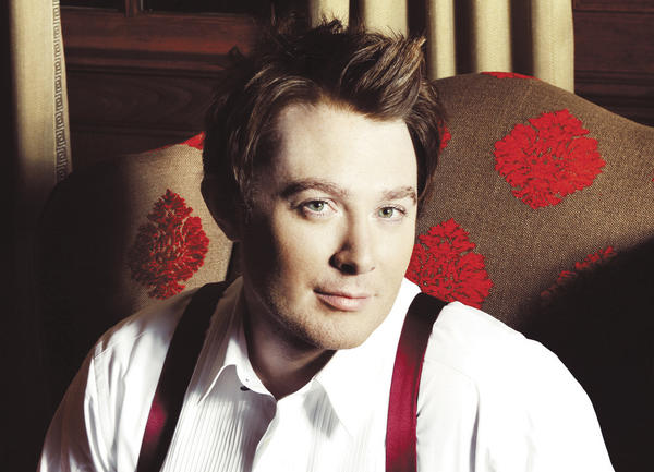Clay Aiken said it¿s not Christmas for him until he sings in his own Christmas show. Aiken performs Saturday at the Luhrs Center in Shippensburg, Pa.
