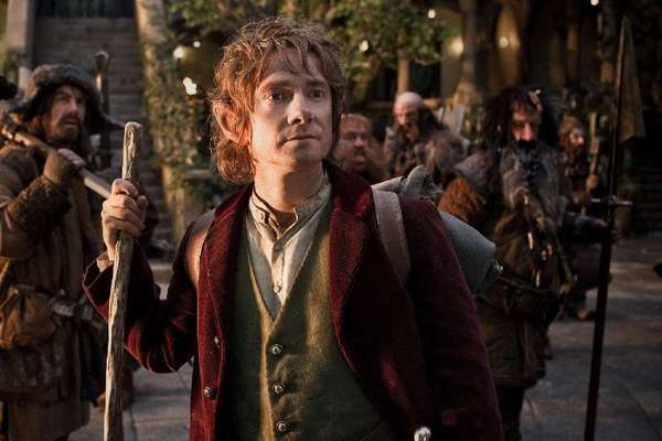 "Martin Freeman in ""The Hobbit: An Unexpected Journey."""