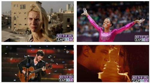 We garnered a gallery of our favorite television moments of 2012. Relive (and cry) with us through these precious moments that made up a wonderful 2012.