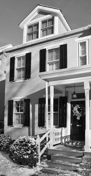 A 1902 home a 127 Wall St. is on the Bethlehem Historic District Holiday House Tour Dec. 8.