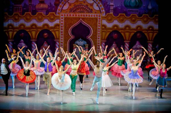 Madeline Jazz Guerdat and Matthew Harvey, both of Carolina Ballet Theatre, return to reprise their roles as the Sugar Plum Fairy and her Cavalier in the Repertory Dance Theatre production of 'The Nutcracker' Dec. 8 and 9 at Miller Symphony Hall in Allentown.