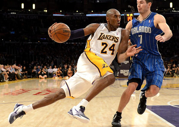 The Black Mamba, one of only three guards in the top 10, surpassed 30,000 points in his 1,180th game by averaging 25.4 an outing.