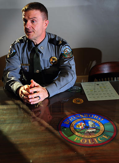 Boonsboro police chief