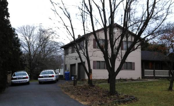 Authorities say a woman was found dead Wednesday in a home on Country Club Road in Bethlehem Township.