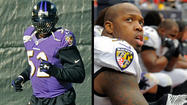 Lewis returns to practice; Suggs sits out with injury