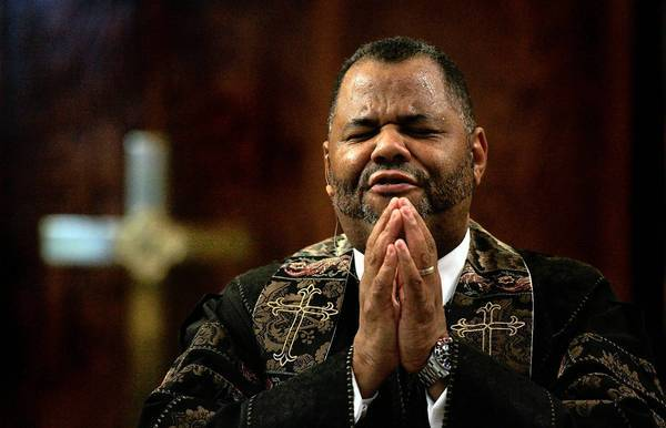 The Rev. John J. Hunter, who was ousted as First AME's pastor in late October, is being sued by the South L.A. congregation over alleged improprieties. Hunter denies any wrongdoing and is fighting to regain his position.