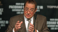 LAS VEGAS — Bob Arum has seen the future of boxing, and it is him.