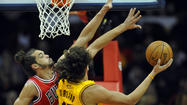 Belinelli leads Bulls to 95-85 victory over Cavs
