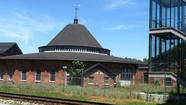 Baltimore & Ohio Railroad roundhouse
