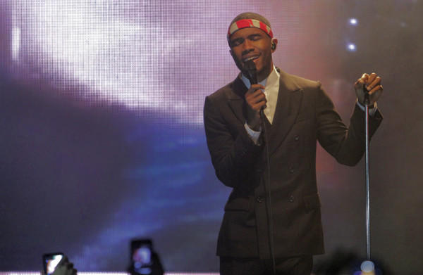 Frank Ocean took left-field R&B to the Grammys this year