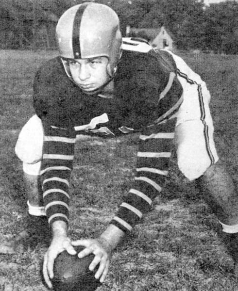 Frank Szvetecz of Bethlehem was a three-year letterman for Army and captained the Black Knights in 1956.