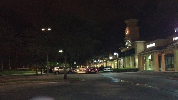 Miramar Police are involved in a shooting as shoplifting suspects flee a Target store in Miramar