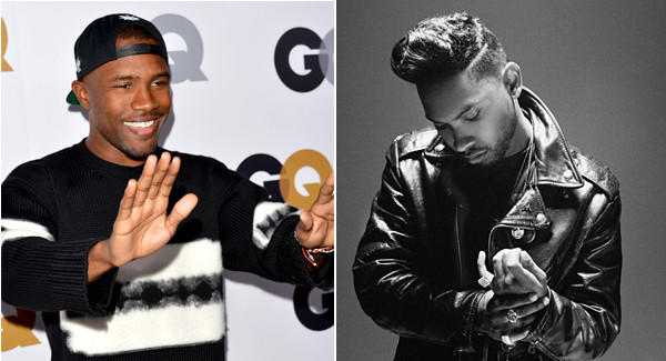 Frank Ocean, left, and Miguel head a new R&B class of artists.
