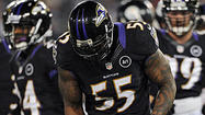 There is speculation that Pro Bowl outside linebacker Terrell Suggs will attempt to play in Sunday's game against the Washington Redskins, but I don't see where it will help the Ravens much.