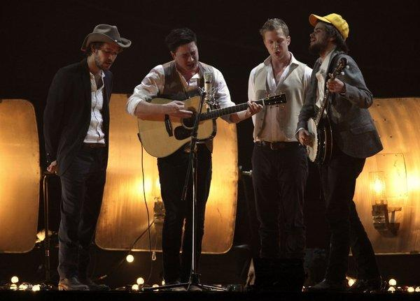 Mumford & Sons scored lots of Grammy nominations.