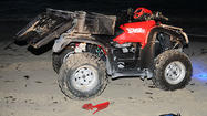 <b>Photos:</b> Drunken cop's ATV crash
