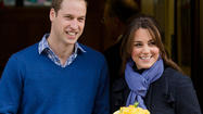 Kate Middleton sale del hospital