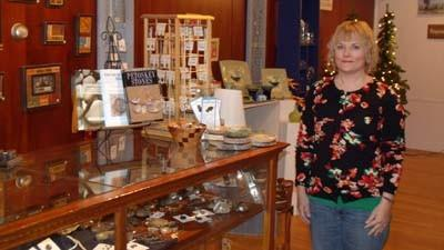 Anne Thrush manages the new Northgoods shop in downtown Petoskey.