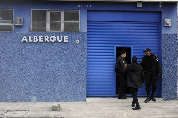 The Guatemalan immigration department detention center in Guatamela City where John McAfee was being held.