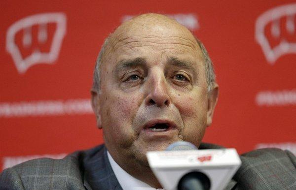 Barry Alvarez will coach Wisconsin in the Rose Bowl game.
