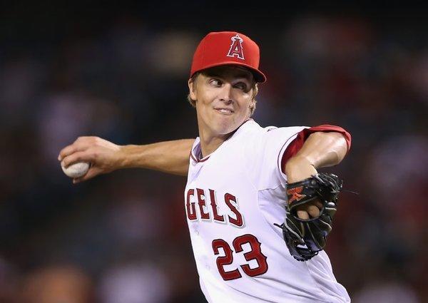Zack Greinke might not be wearing an Angels uniform next season.