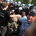 The NATO protest