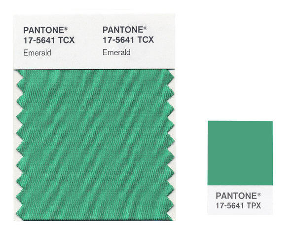 Pantone's color of 2013: Emerald