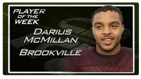 Player of the Week -- December 1, Darius McMillan, Brookville