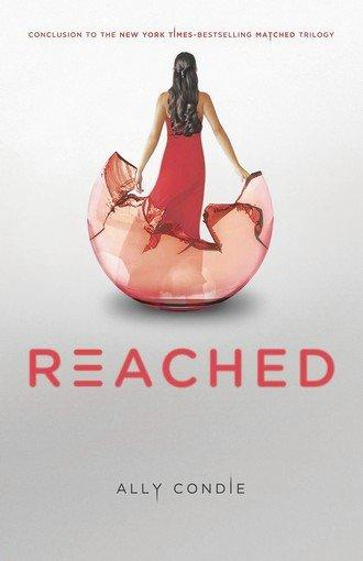 The cover of the book 'Reached' by author Ally Condie.
