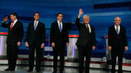 Republican primary lineup