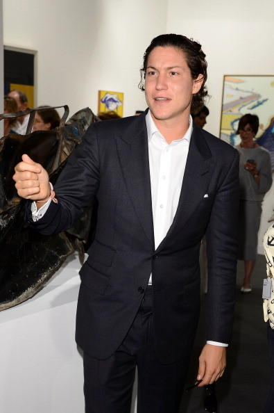 Vito Schnabel attends Art Basel Miami Beach 2012 - VIP Preview at the Miami Beach Convention Center on December 5, 2012 in Miami Beach, Florida.