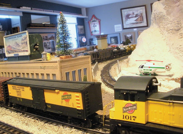 Lee Scotts model railroad display and museum will feature Lionel-sized and American Flyer trains, and Thomas the Tank in Dinosaur Land. Open 1 to 4 p.m. Saturday, Dec. 8, and Tuesday, Dec. 25, at Lee Scotts home, 594 Shannon Drive North, Greencastle, Pa.