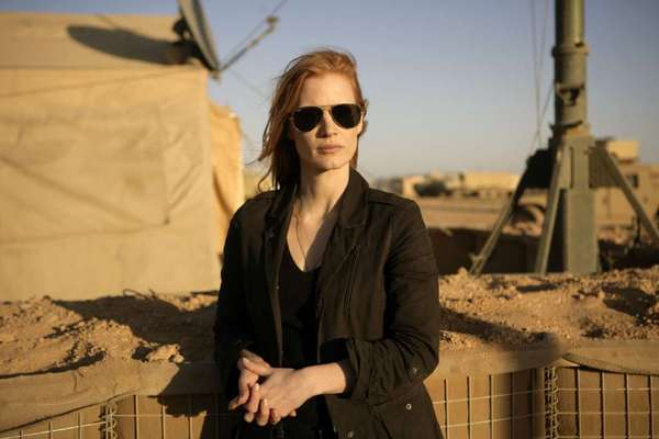 "Jessica Chastain plays a CIA operative in ""Zero Dark Thirty."""
