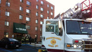 Havre de Grace high rise fire