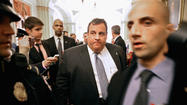 Gov. Christie lobbies for Sandy aid after vetoing 'Obamacare' bill