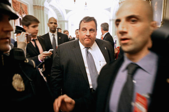 Gov. Chris Christie in D.C.