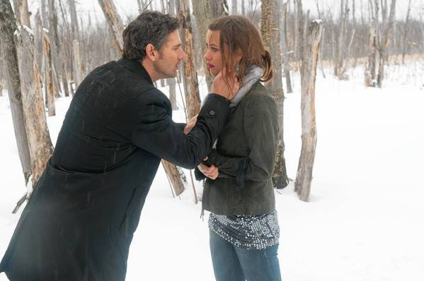 "Eric Bana and Olivia Wilde in ""Deadfall."""