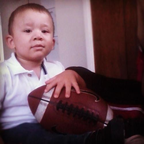Luis Trinidad Jr., 2, was in the back seat of his father's car when it was stolen in Hartford Thursday night. The boy was found safe in Bristol, while the car was recovered in downtown Hartford.