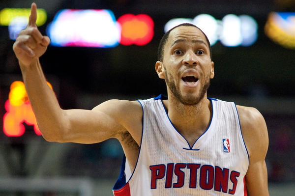 Tayshaun Prince leads the Pistons against the Bulls on Friday night.