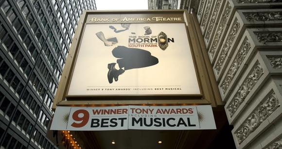 'The Book of Mormon' premieres at Bank of America Theatre in Chicago in December.