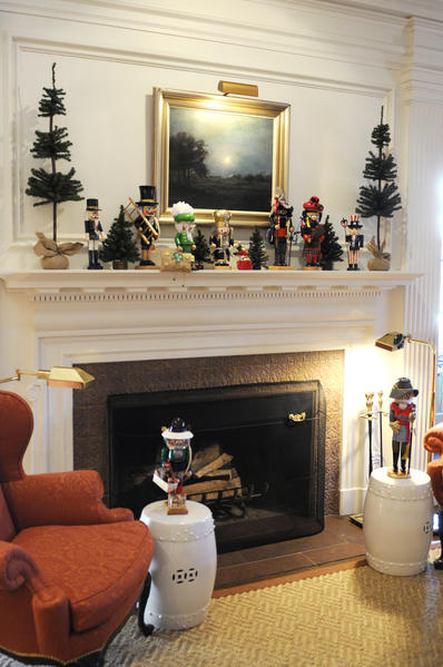 The Governors Residence in Hartford is decorated for the season. The public is invited to see this weekend Friday and Saturday, 10 A.M. to 3 P.M. and Sunday noon to 4 P.M.