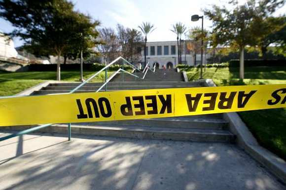 The Glendale Community College campus on Verdugo Road was closed Wednesday.