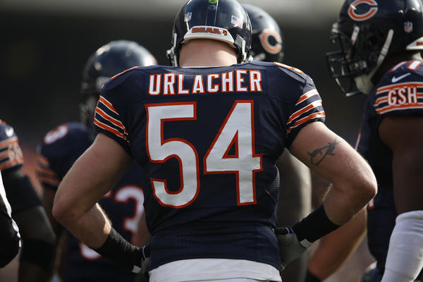 Brian Urlacher and the Bears' defense aren't exactly what they used to be.