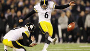 PITTSBURGH (AP) — When Shaun Suisham steps onto the field with the game on the line, the Pittsburgh Steelers kicker doesn't think about the packed stadium or the millions watching at home on TV. He doesn't worry about the way the wind is blowing or if holder Drew Butler is going to get the laces right.