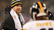 PITTSBURGH (AP) — The Pittsburgh Steelers aren't taking any chances with their franchise quarterback's sprained right shoulder and dislocated rib.