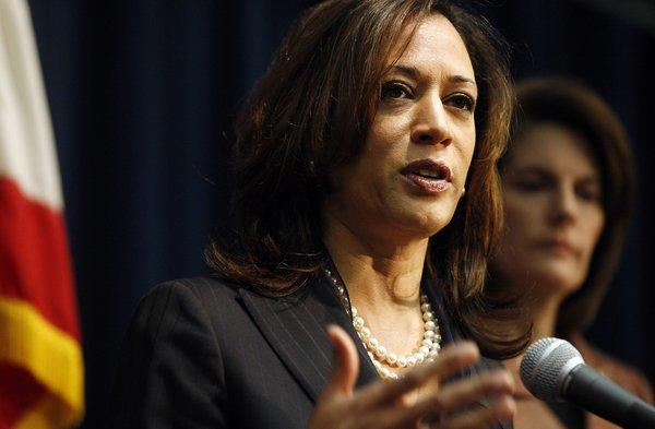 California Atty. Gen. Kamala D. Harris has filed suit against Delta Air Lines, claiming that the company has not provided a privacy policy for its mobile app.