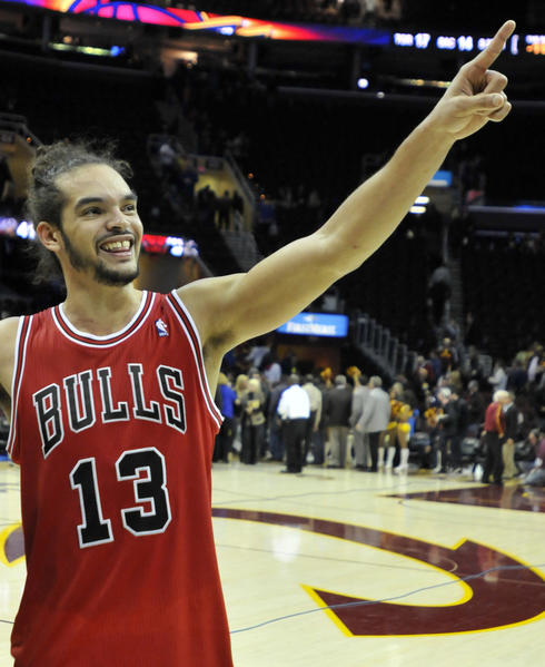 Bull center Joakim Noah could be building an All-Star resume.