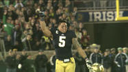 A new record: Te'o wins Bednarik, Walter Camp, Maxwell player of the year